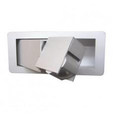 LED Nástěnné svítidlo LUXERA 41112 DREAM CREE LED/3W Matný hliník