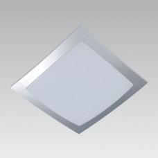 Luxera Titanium 32310 2xT5/22W+40W, Stříbrná, Opál