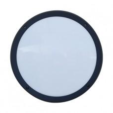 Luxera Nuvola 48309 LED/13,5W, 4000K, IP65, Tmavě šedá, Černá