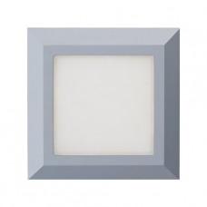 Luxera Radix 48315 LED/3,5W,4000K,IP65, Šedá, Bílá
