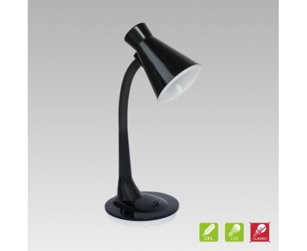 Stolní lampa Prezent Papageno 26018 1xE27/15W, Černá