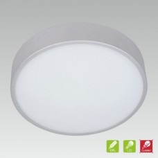ELBA 3xE27/15W, IP44, Stříbrná, Matná bílá