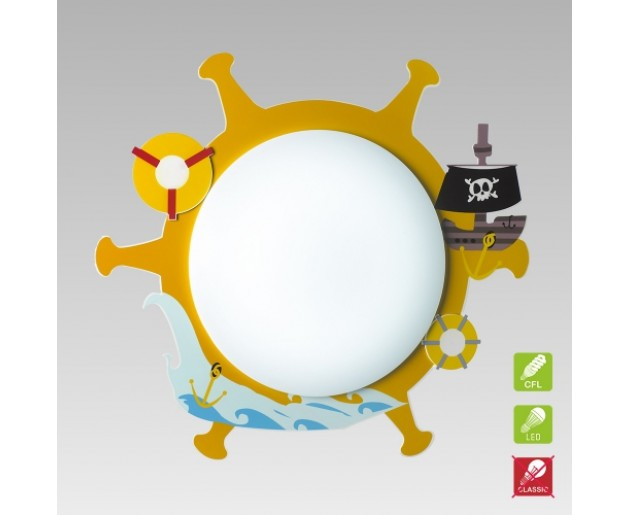 Svítidlo Luxera Pirat 28024 3xE14/9W, Barevná