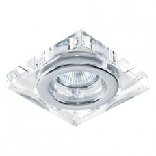 DOWNLIGHT GU10/50W,IP55 Chróm, Křišťál