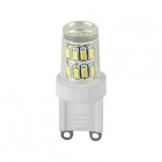LED BULB G9/2W,3000K, Teplá bílá