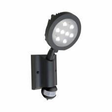 NEVADA 70122 8x1W LED,IP54, Šedá, Černá