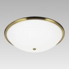 Stropní svítidlo Prezent Viola 75354 3xE27/40W,D500, Zlatá, Bílá