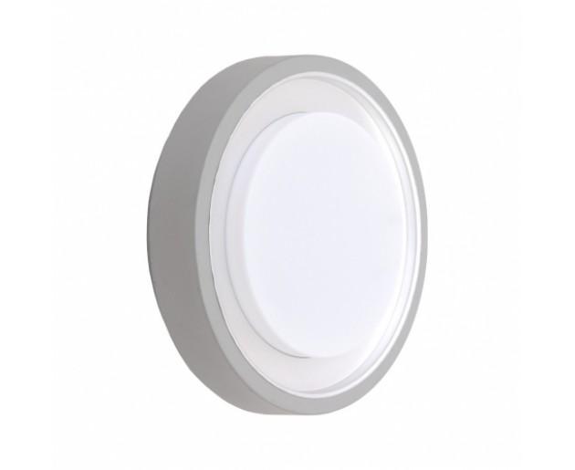 Venkovní svítidlo Emithor Origo 70111 1xE27/60W,IP54, Stříbrná, Opál