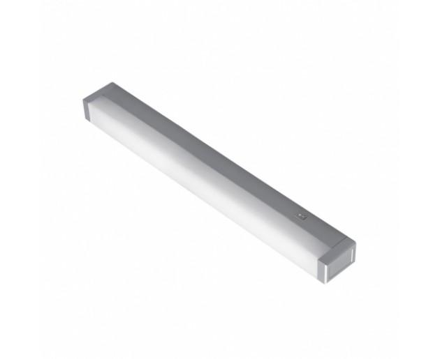 Kuchyňské svítidlo ATROX, 1xT5/13W PREZENT 4100 Stříbrná