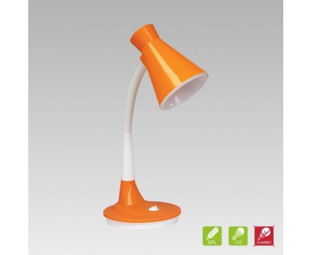 Stolní lampička Prezent Papageno 26014 1xE27/15W, Oranžová