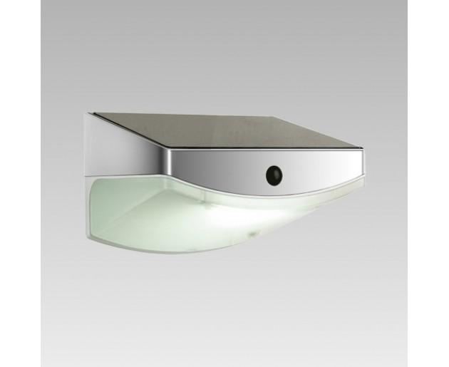 Luxera Tardis 65250 3xLED/0,5W, SOLAR,IP44, Stříbrná