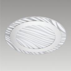 Stropní svítidlo Epsylon 45104 Prezent 2xE27/60W, Bílá, Chróm