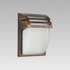 AMALFI 1xE27/60W,IP44, Matná rustikální bronz, Ledová