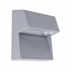 RADIUS 3x1W LED,IP65, Stříbrná