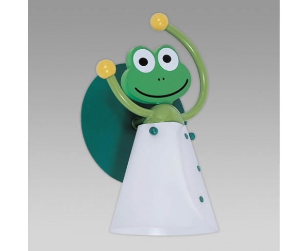 Prezent Frog 28000 Zelená, Bílá