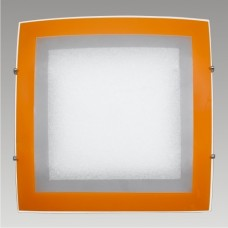 ARCADA CEILING 2xE27/60W, 39x39, Bílá, Oranžová