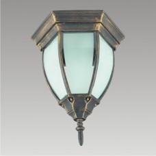 Stropní svítidlo LIDO PREZENT 39009 1xE27/60W,IP33, Mosaz matná