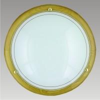 Nástěnné stropní svítidlo Ufo DW 7007 2xE27/60W, Žlutá, Bílá