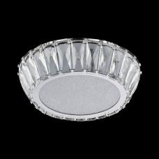 LED křišťálové stropní svítidlo Luxera 62421 VENUS LED/20W/230V Šedá
