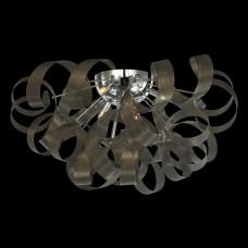Stropní svítidlo Luxera 64377 RIBBONET 5xG9/33W/230V Chróm, Hnědá
