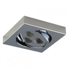 Bodové podhledové svítidlo Emithor DOWNLIGHT 71015 3x3W LED, Chróm