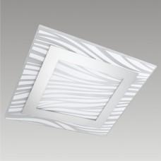 Stropní svítidlo Epsylon 45105 Prezent 2xE27/60W, Bílá, Chróm
