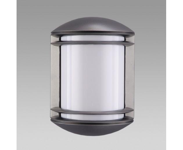 Venkovní svítidlo Prezent New York SB 3003 1xE27/60 Tmavá šedá, Opál