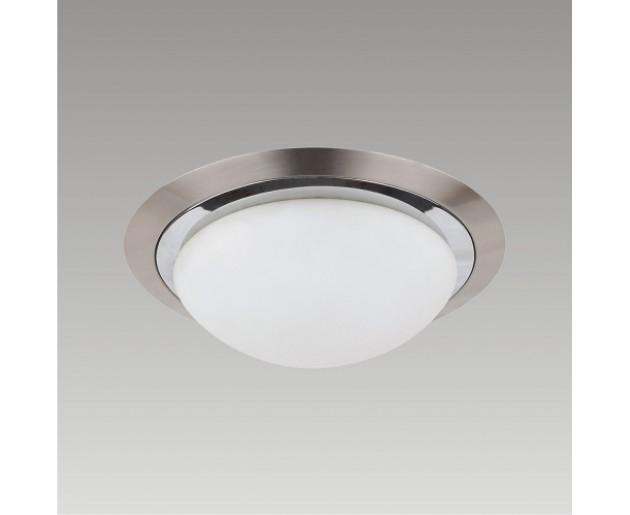 Stropní svítidlo LENS 49014 Prezent 1xG9/33W, Saténový nikl, Chróm