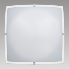 DELTA 1xE27/60W, 300x300, Bílá lesklá