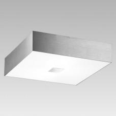 Nástěnné stropní svítidlo PANDORA 62015 Prezent 4xE27/40W, Kartáčovaný hliník