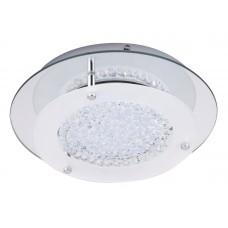 Stropní LED svítidlo Rabalux 2446 Marion Chróm, Sklo