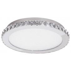 Stropní LED svítidlo Rabalux 2452 Emma 21,6W Chróm, Bílá