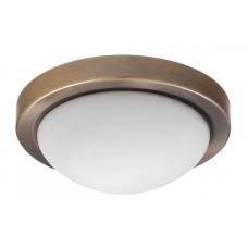 Přisazené svítidlo Disky 3564 Bronz, Bílá