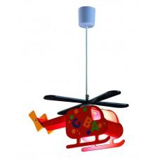 Dětský lustr Helicopter Rabalux 4717 Barevná