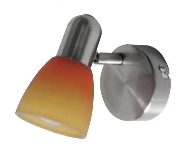 Bodové svítidlo 6311 Rabalux Rainbow 2 Nikl, Oranžová