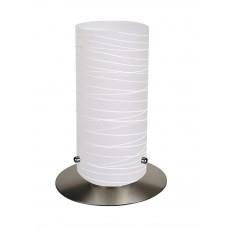Aurel Saténový chróm, Bílý dekor