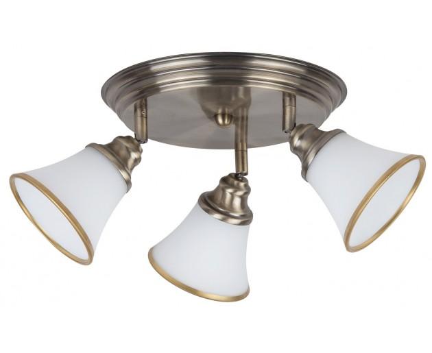 Stropní svítidlo Rabalux 6548 Grando Bronz, Bílá