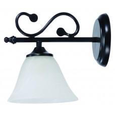 Nástěnné svítidlo Dorothea 7771 Černá, Bílá