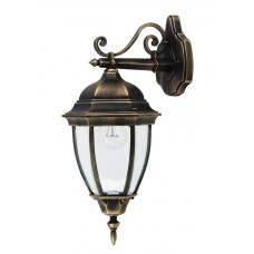 Venkovní nástěnné svítidlo Rabalux Toronto 8381 Černá, Mosaz