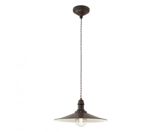 Závěsné svítidlo Eglo Stockbury EG 49456 Hnědá