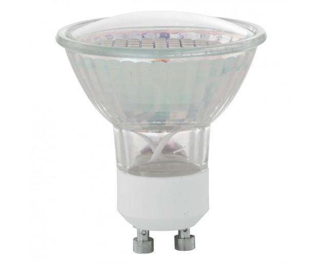 Zdroj-GU10-SMD LED 3W 3000K, Bílá