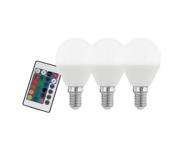 SADA 3x LED Stmívatelná žárovka Eglo 10683 E14/4W/230V