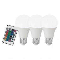 SADA 3x LED Stmívatelná žárovka Eglo 10681 E27/7,5W/230V