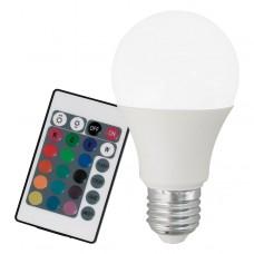 Stmívatelná RGB LED žárovka Eglo 10899 A60 E27/7,5W/230V