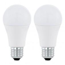Zdroj-E27-LED A60 1055lm 3000K, Bílá