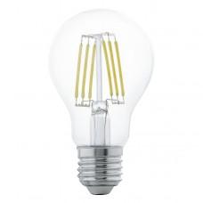 Zdroj-E27-LED A60 2700K, Bílá
