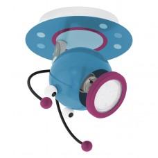 Nástěnné svítidlo EGLO Laia EG95941 Modrá, Fialová