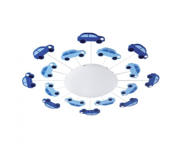 Stropní svítidlo Eglo 92146 VIKI 1 Bílá, Modrá