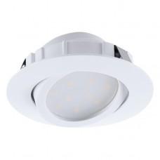 Eglo 95854- LED podhledové svítidlo PINEDA 1xLED/6W/230V