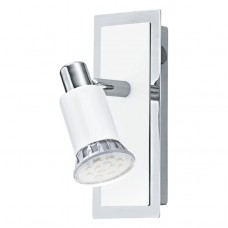 Bodové svítidlo Eglo Eridan 90831 Chróm, Bílá